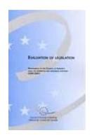 Evaluation of Legislation -...