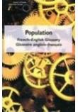 Population: French-English glossary / glossaire anglais-français