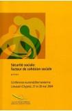 Sécurité sociale : facteur de cohésion sociale - Actes, Limassol, mai 2004