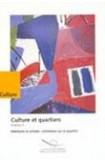 Culture et quartiers - Volume 3 - habitants et artistes : entretiens sur le quartier