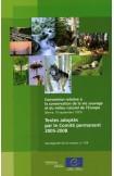 Convention relative à la conservation de la vie sauvage et du milieu naturel de l'Europe - Textes adoptés par le Comité permanent 2005-2008 (Sauvegarde de la nature, n°154)