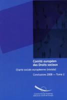 Comité européen des Droits...