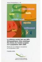 La cohésion sociale face...