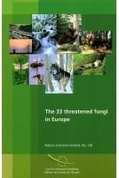 The 33 threatened fungi in...