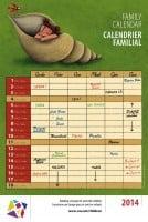 Family calendar 2014