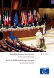 Visite de Sa Sainteté le pape François au Conseil de l'Europe