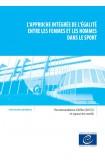 L'approche intégrée de l'égalité entre les femmes et les hommes dans le sport - Recommandation CM/Rec(2015)2 et exposé des motifs