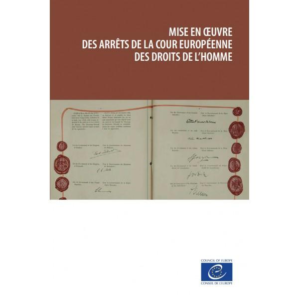 pdf mise en oeuvre des arr ts de la cour europ enne des droits de l homme council of europe. Black Bedroom Furniture Sets. Home Design Ideas