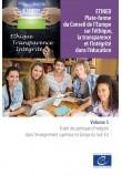 ETINED - Plate-forme du Conseil de l'Europe sur l'éthique, la transparence et l'intégrité dans l'éducation - Volume 5 - Étude des politiques d'intégrité dans l'enseignement supérieur en Europe du Sud-Est