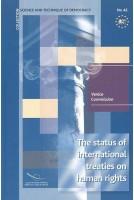 The status of international...